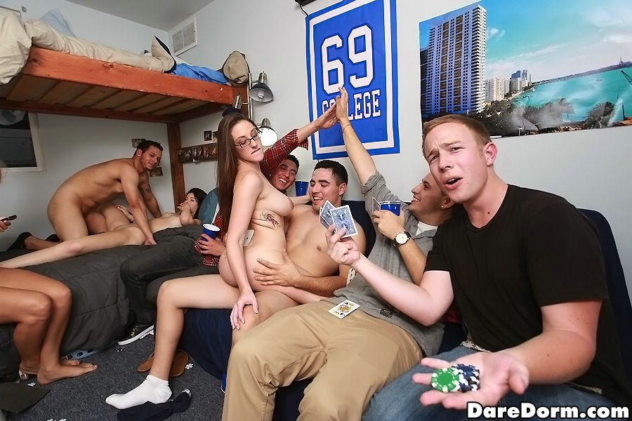 College Girl Swallow Cum Party