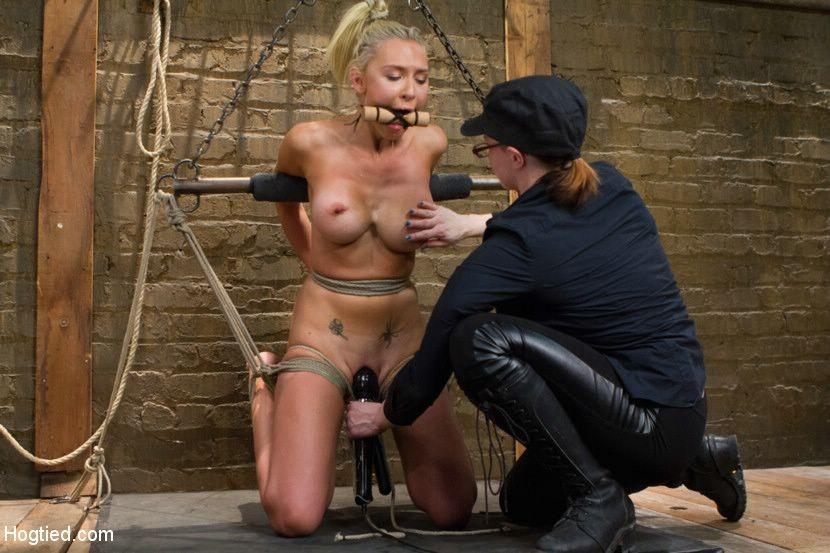 XXX photo bdsm suspended blondes movies