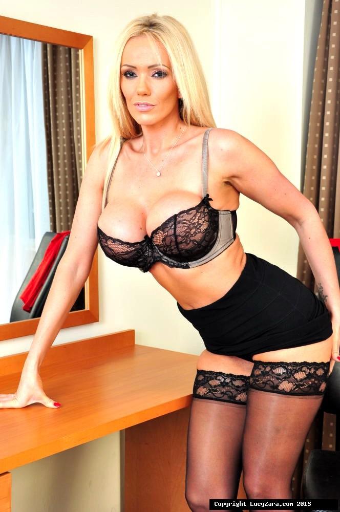 Hot Blonde Milf Black Cock