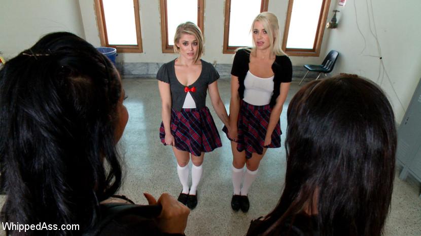 Lesbian School Teacher Strap