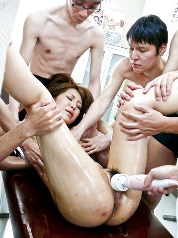 Asian Lesbian Ass Finger