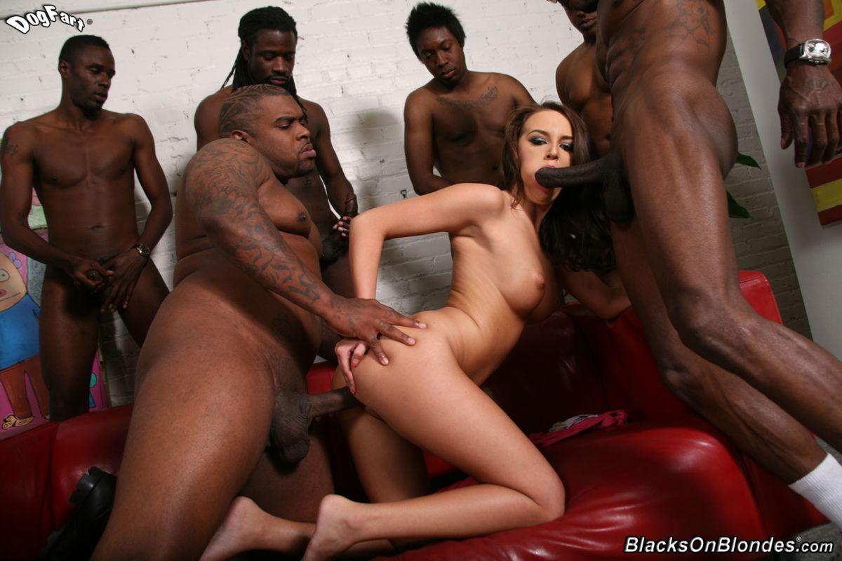 Black Girl White Guy Gang