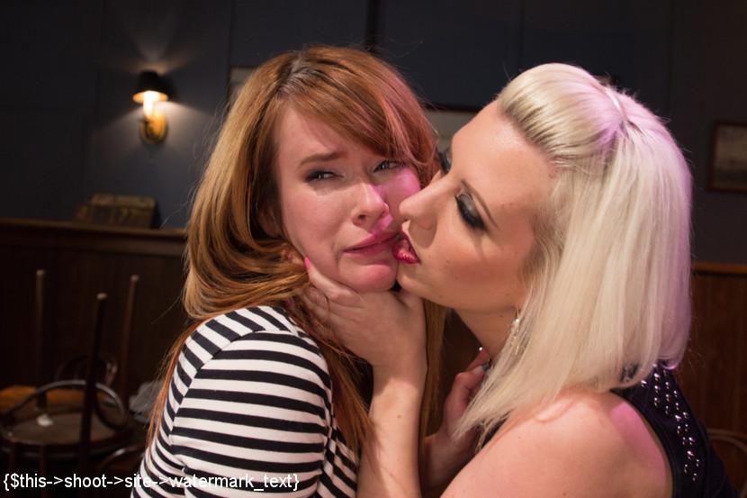 Big Tits Lesbian Bondage