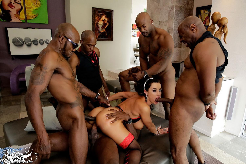 Black Gangbang Porn