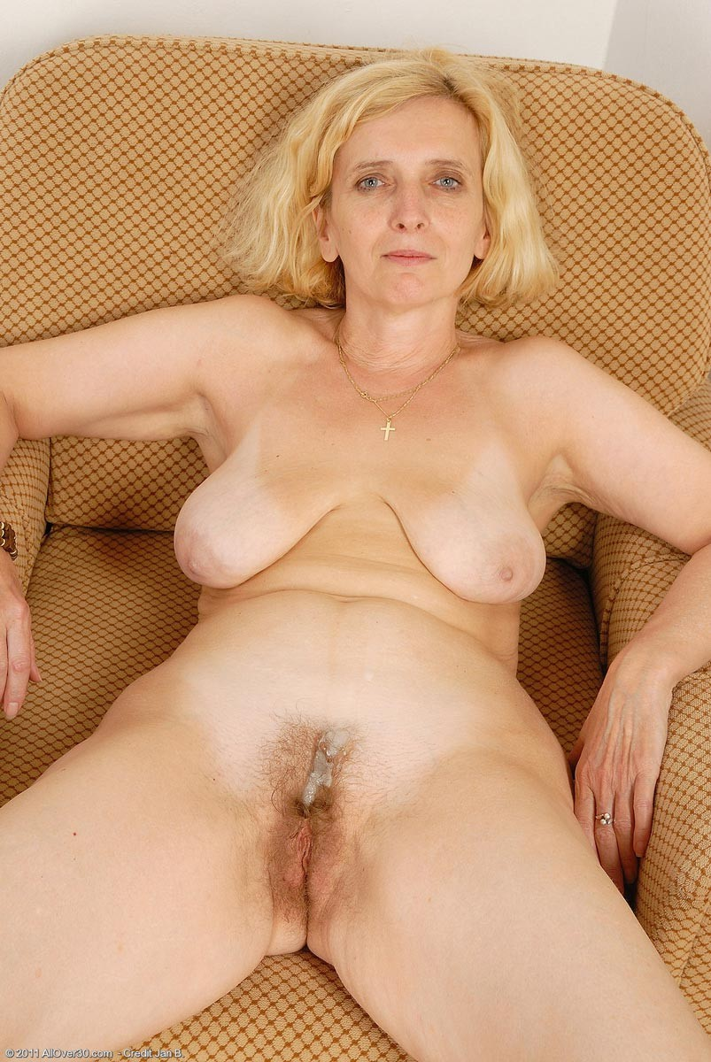 Mature granny blonde