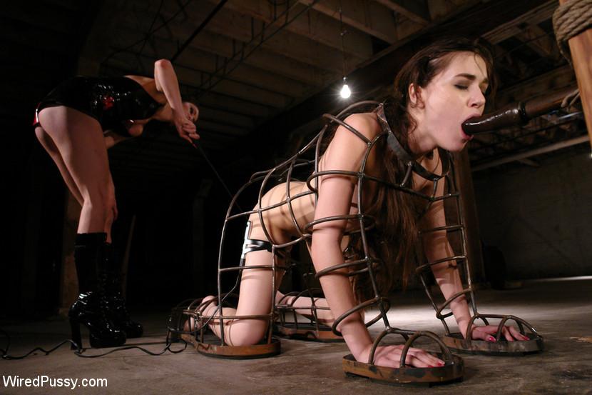 Bondage Slave Anal Training