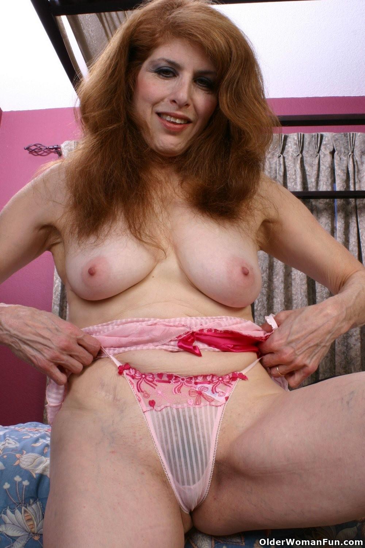 Playboy girl with nipple rings