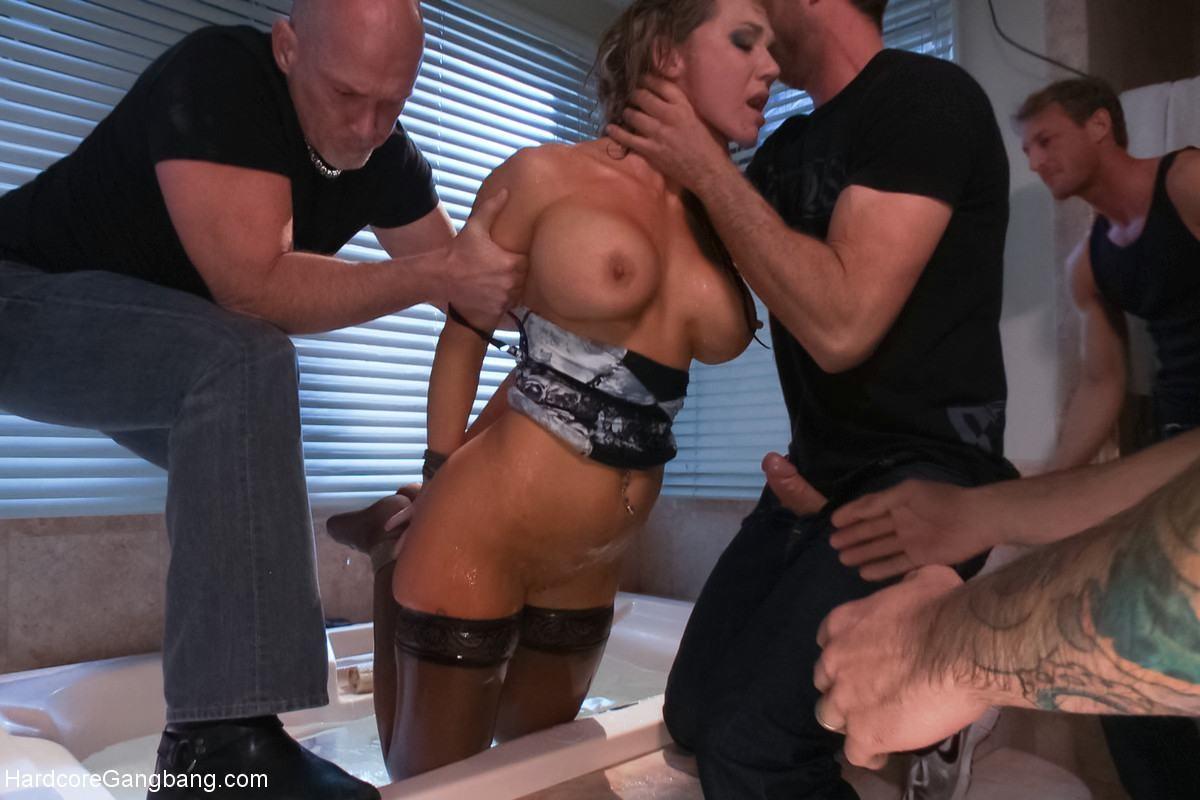 Big Tits Bondage Gangbang