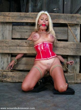 Stacy Burke    Sex and submission    BDSM    Big Tits    Bondage    Bound    Deepthroat    Hardcore    Slave    Submissive thumbnail