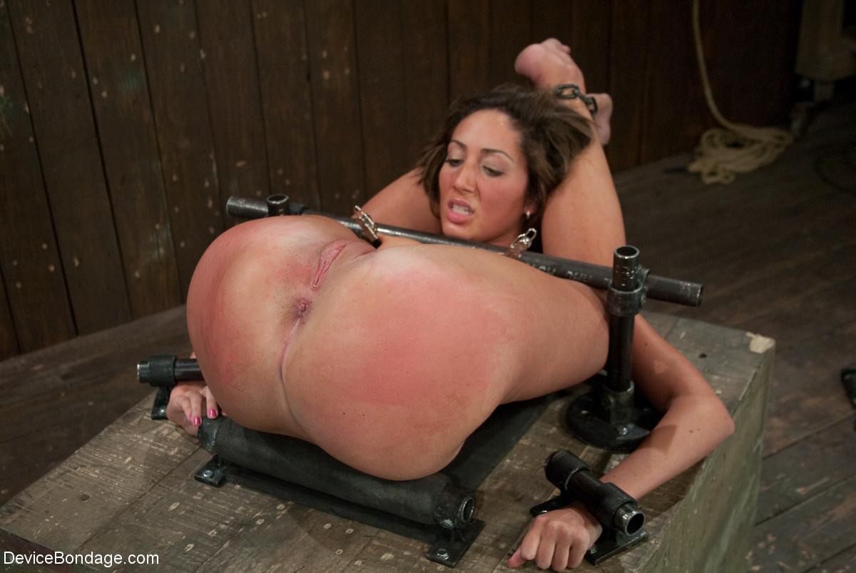 naked girl collage bondage pussy