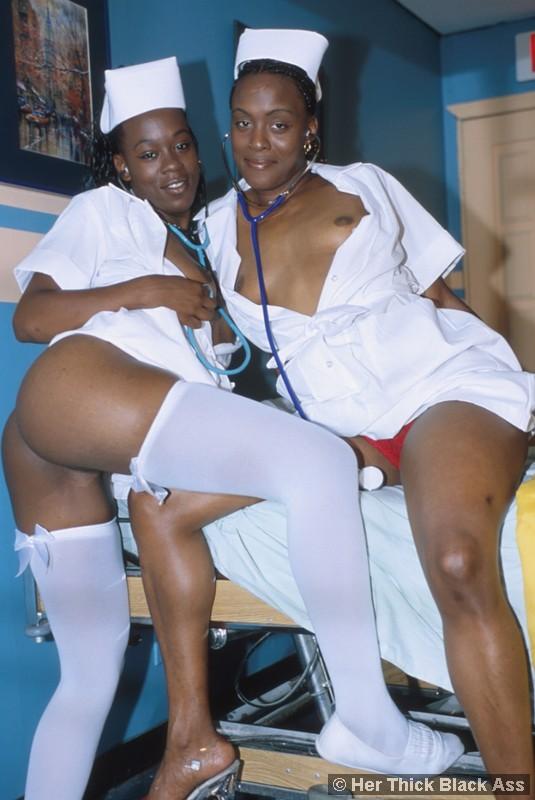 Amateur Black Teen Threesome