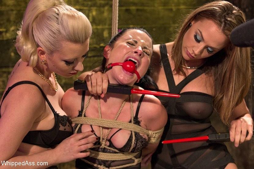 Lesbian Tricked Into Bondage