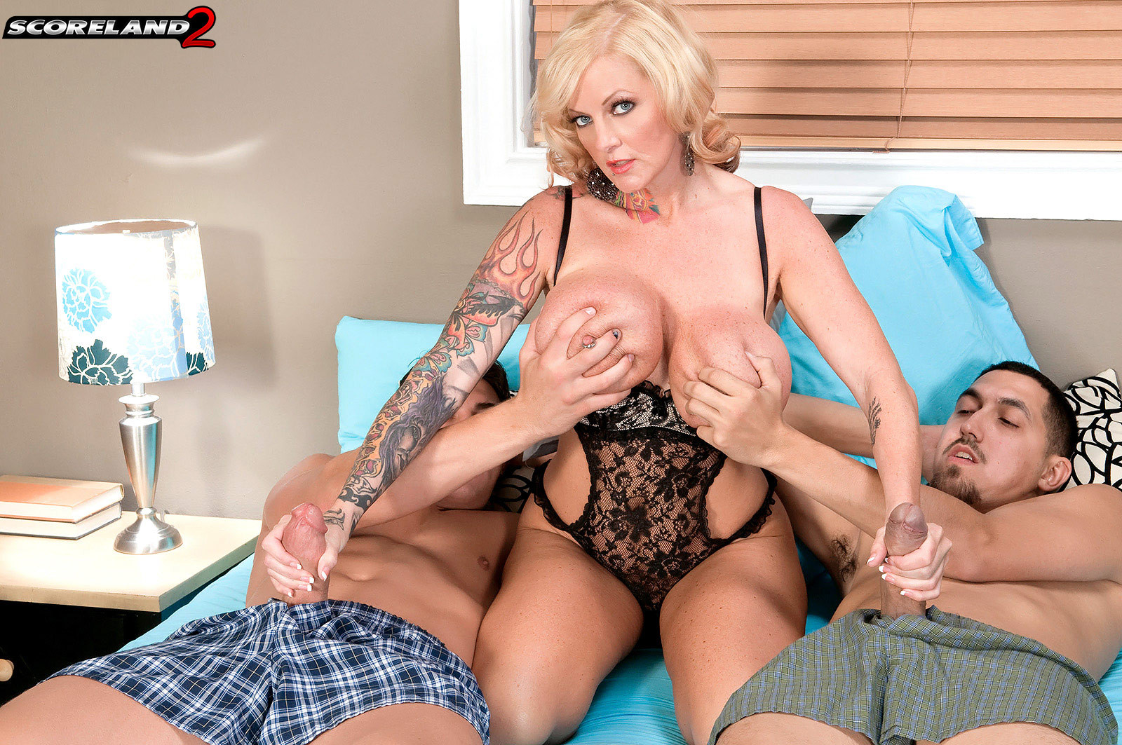 Big Tit Milf Pov Threesome