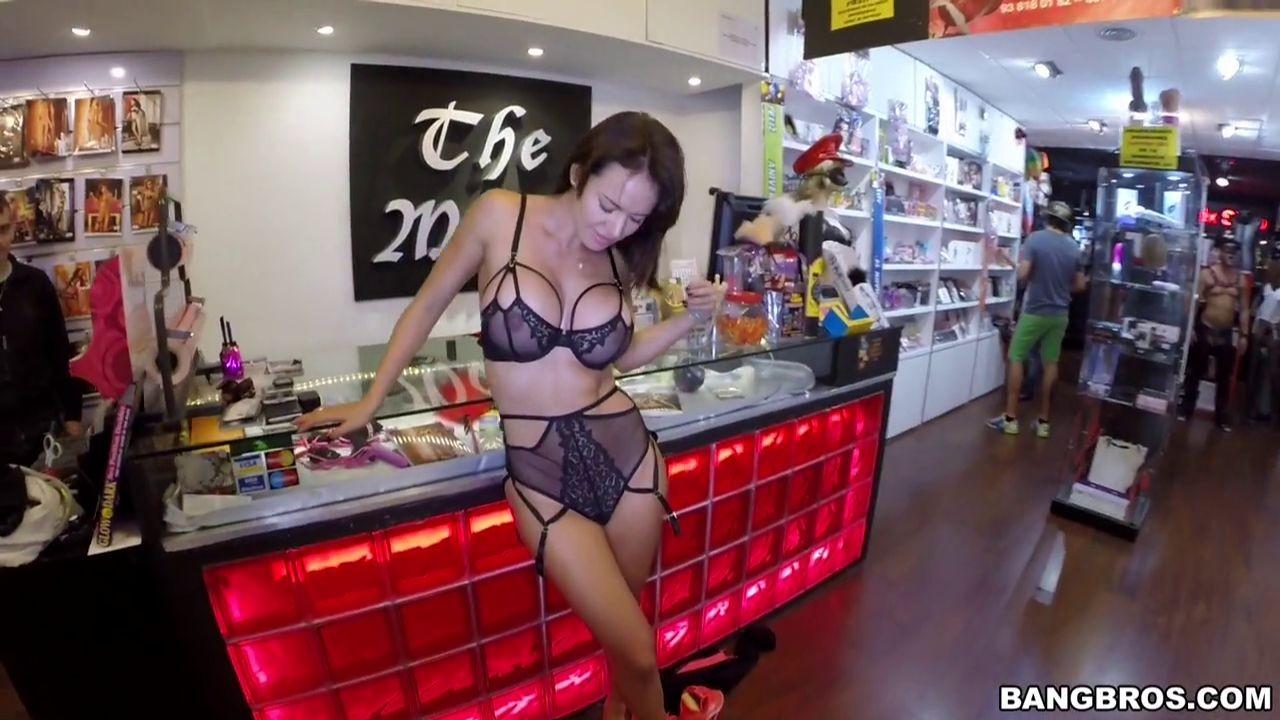 Black to the back sex shop