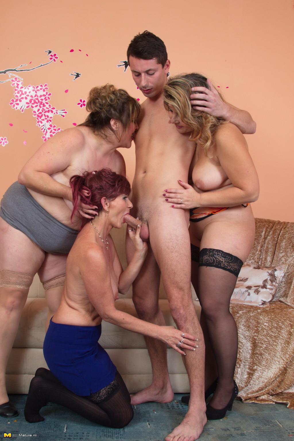 Mature Group Hot