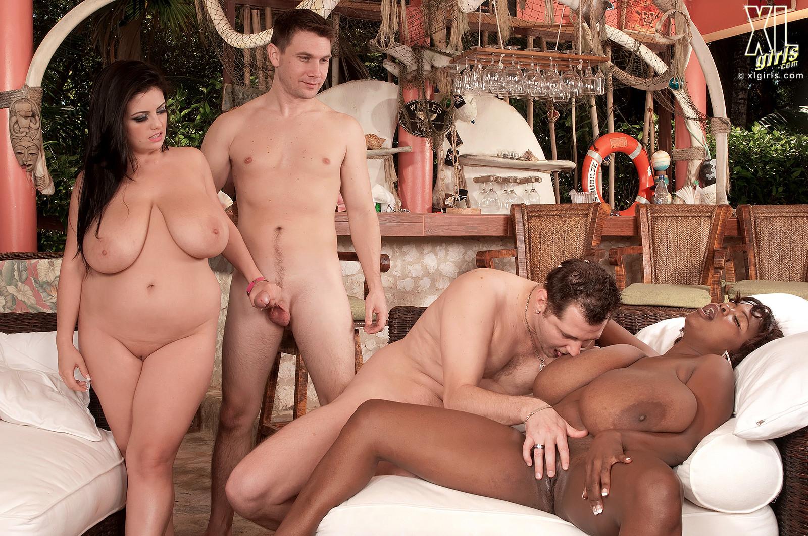 Big Tits Ass Interracial