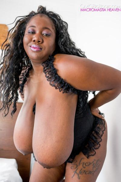 Ebony Bbw Big Tits Anal