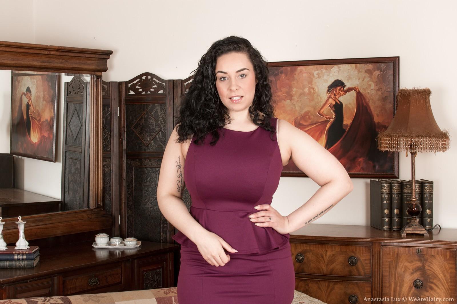Anastasia Lux Strip the busty anastasia lux strips nakedher sofa - pichunter