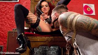 Ruckus    Lola Luscious    Divine Bitches    Anal    CFNM    Humiliation    Mistress    Slave    Spanking    Strapon    Tattoo thumbnail
