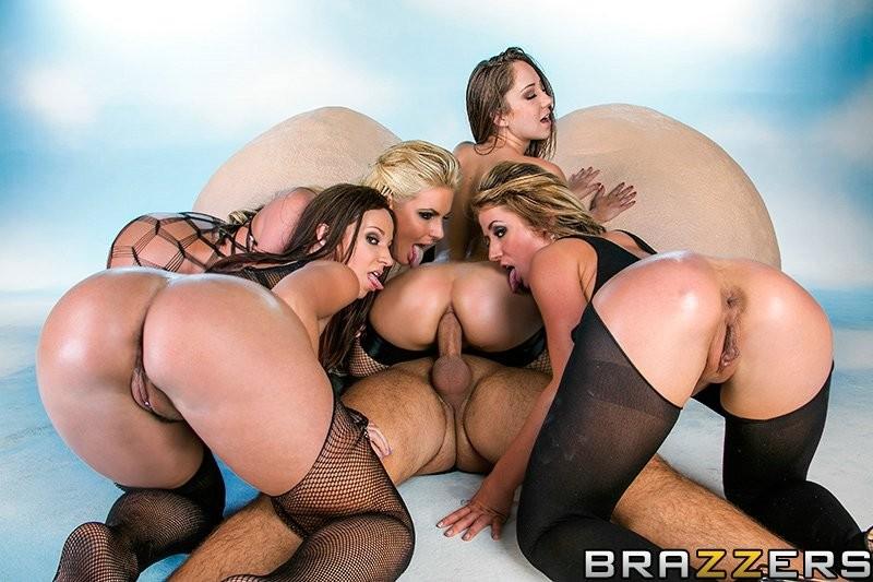 Lesbian Anal Squirt Orgy
