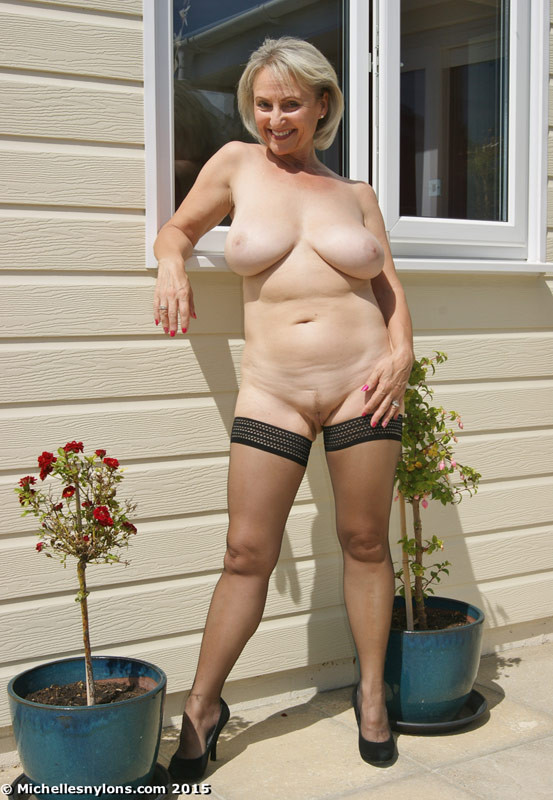 Michelle nylons nude Michelle Mature Nude Model Niche Top Mature
