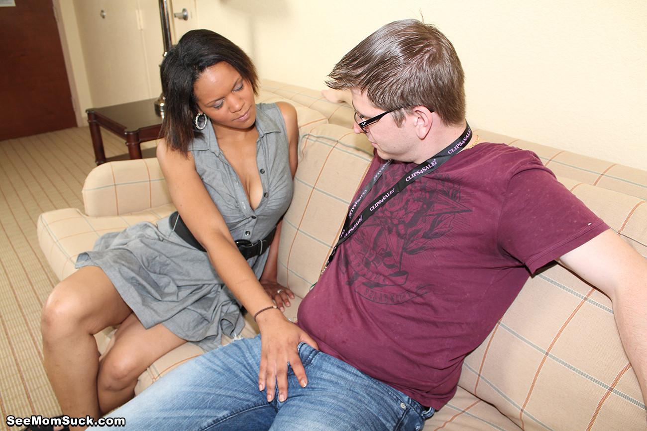 Ebony Mature Young Dick