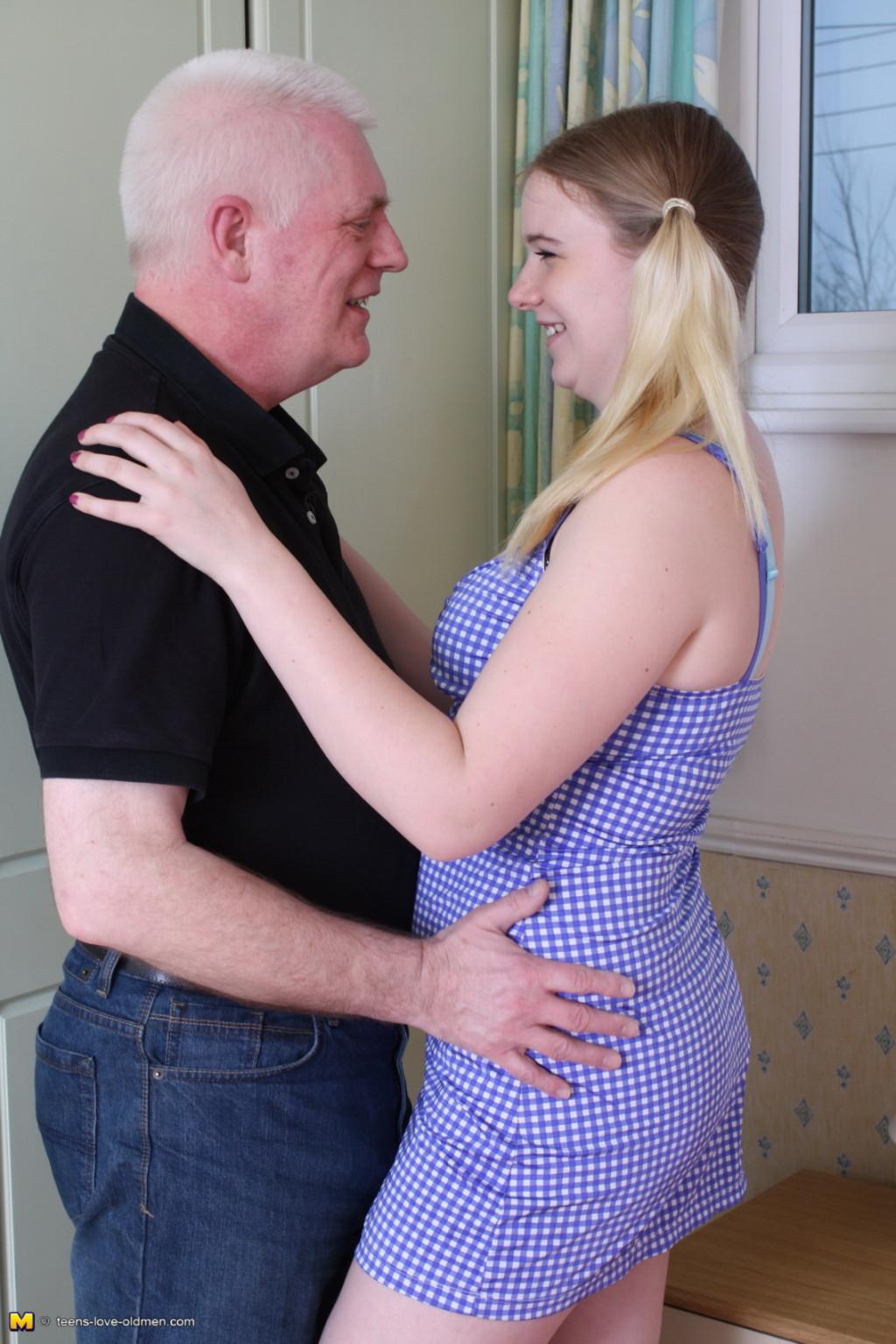 Old Man Abuses Young Girl