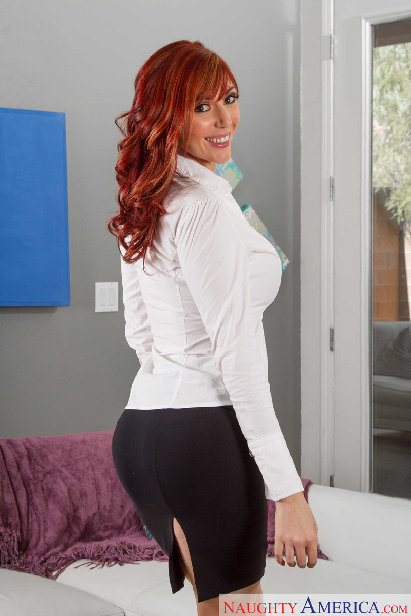 red hot lauren redhead porno