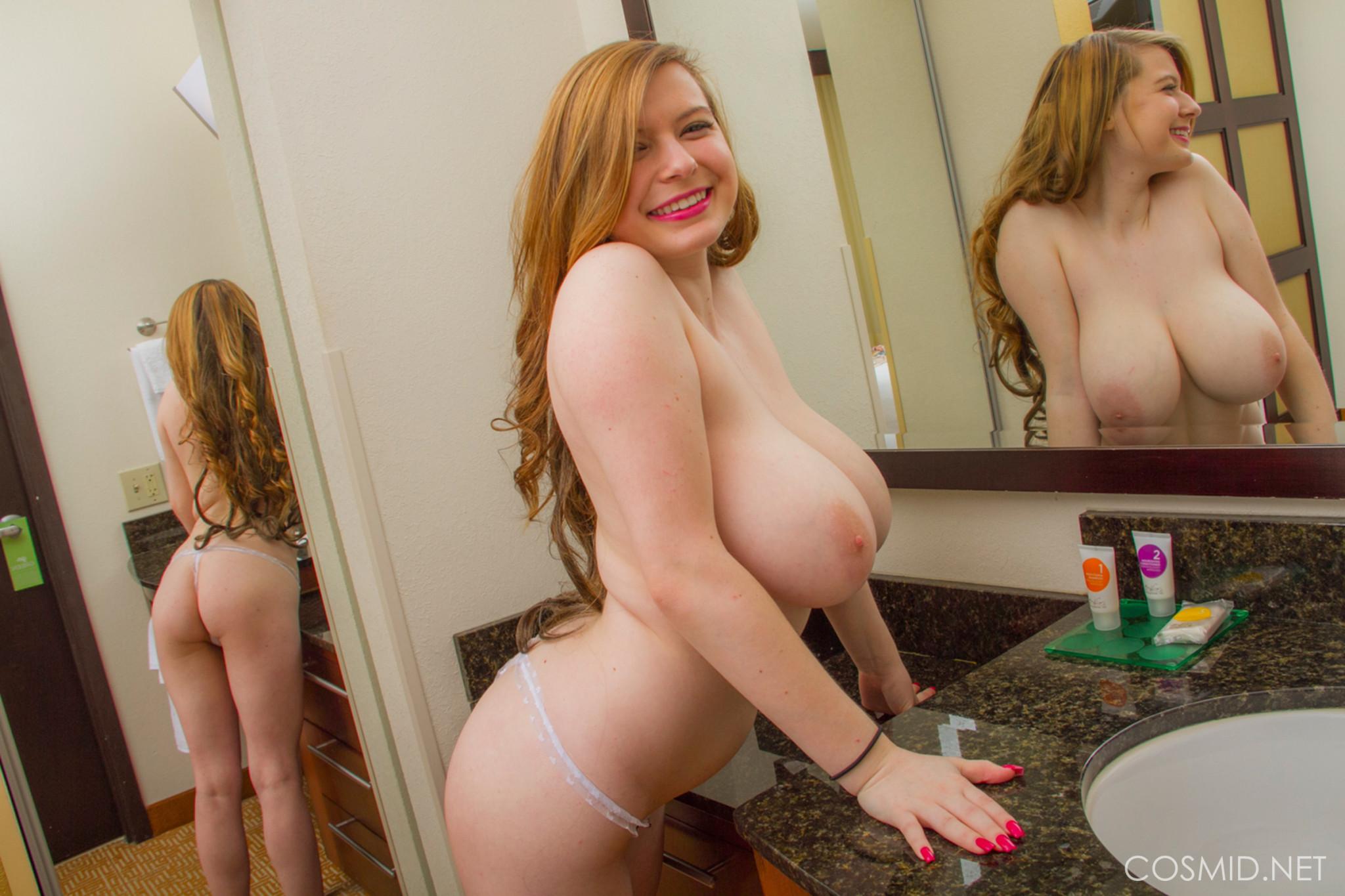 Ebony Amateur Big Tits Head
