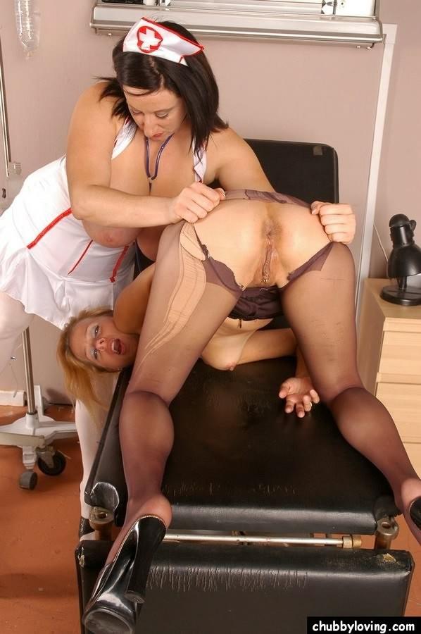 Blonde Milf Lesbian Strapon