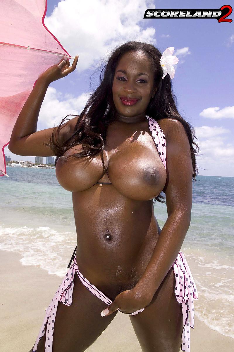 Slim Thick Ebony Big Tits