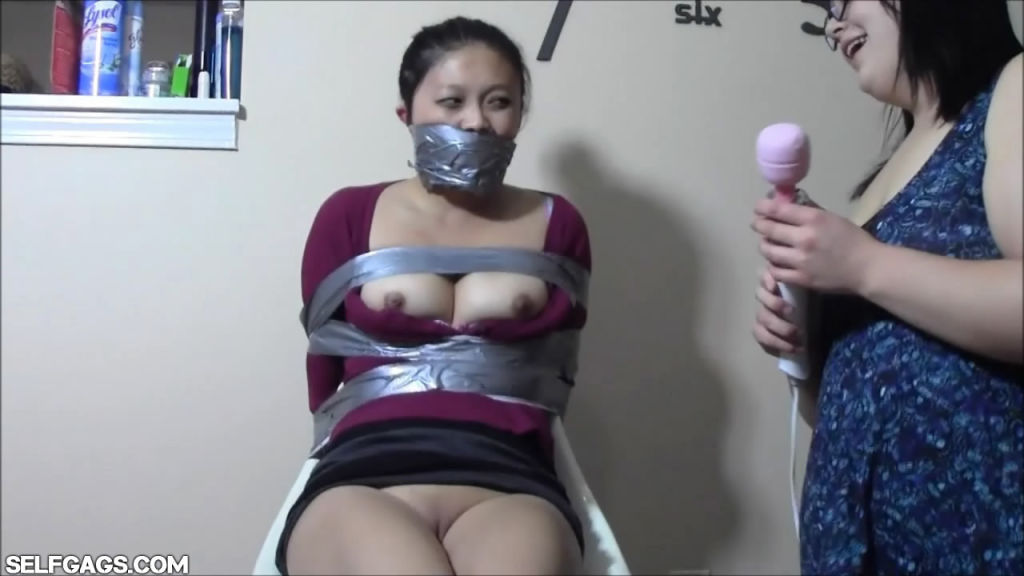 Asian bound and gagged xxx sex images