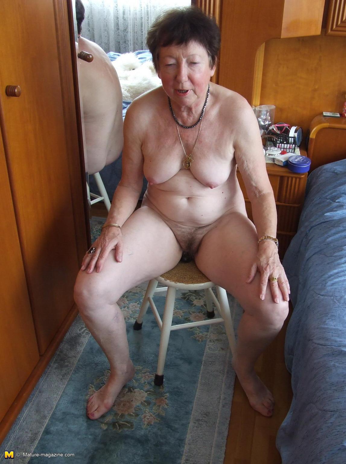 amateur granny nude barbara