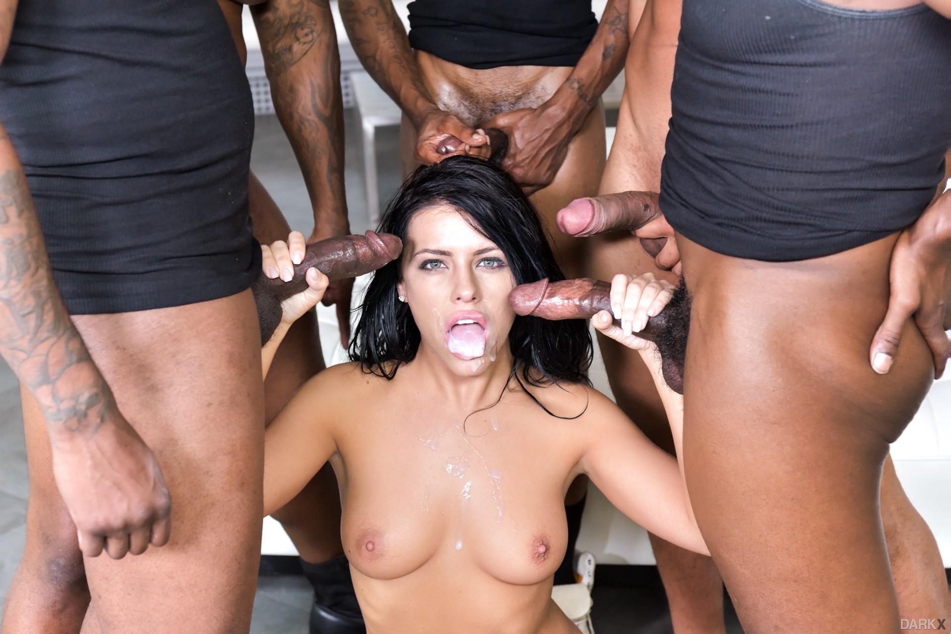 Hot Sex Gang Bang