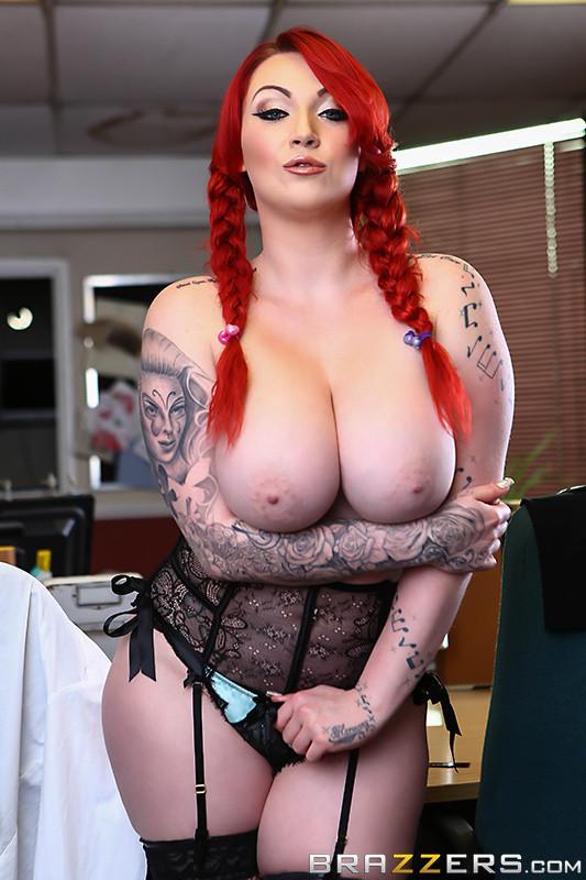 Big Tits Brazzers Redhead