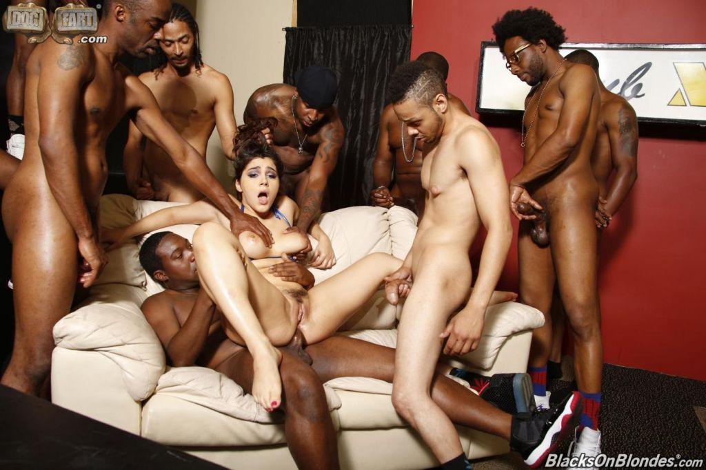 Black on black sex orgy 13
