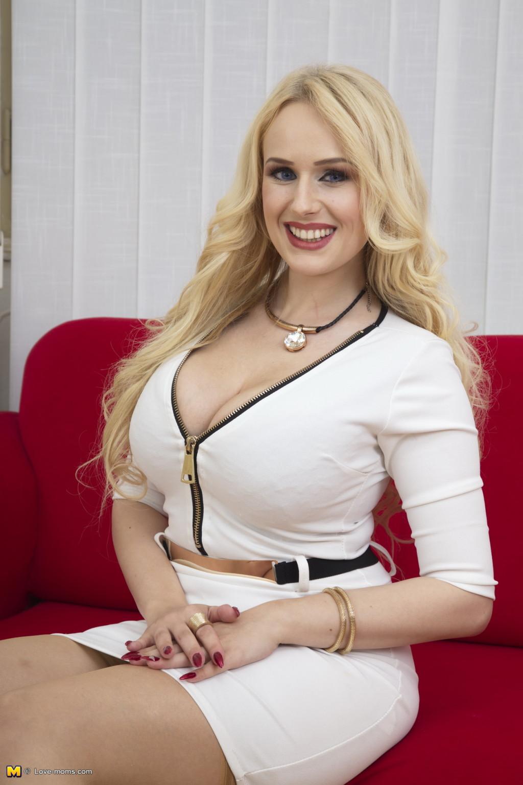 Short Blonde Teen Big Tits