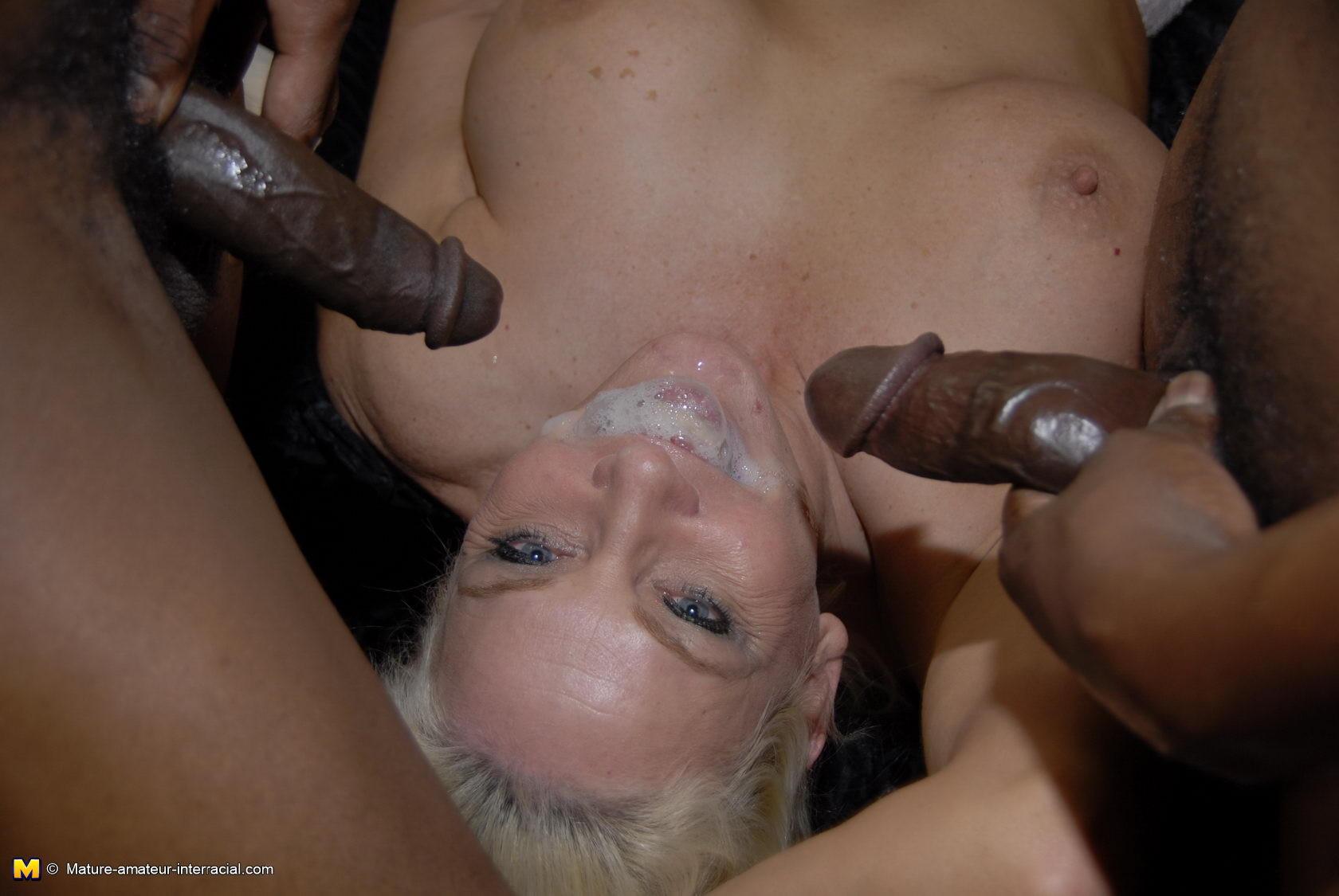Big Tit Blonde Bbc Deepthroat