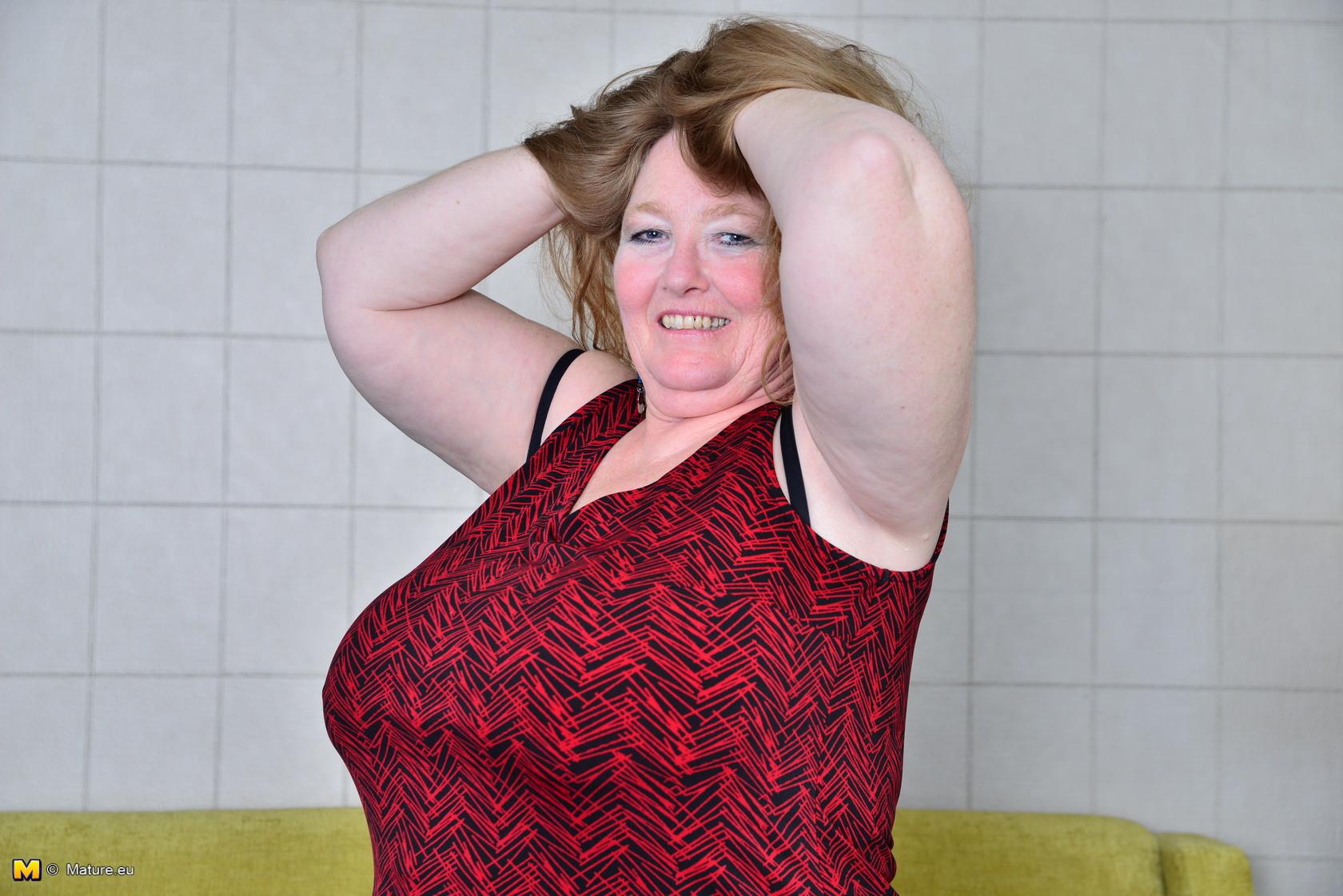 Big Tits British Mature
