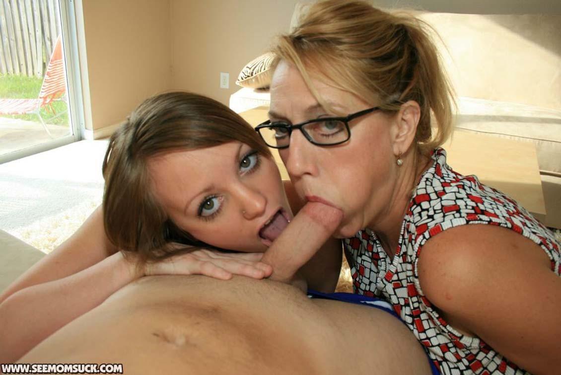 Mom Seduces Her Daughter
