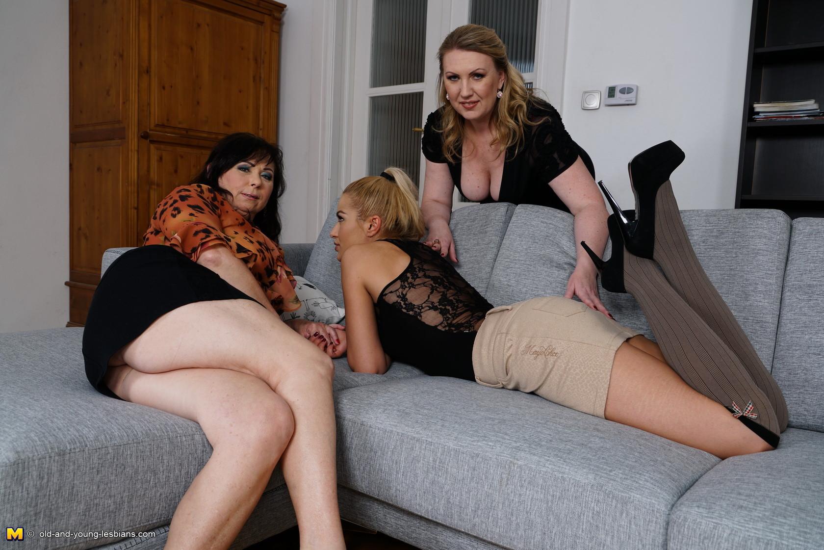 Milf Teach Teen Threesome