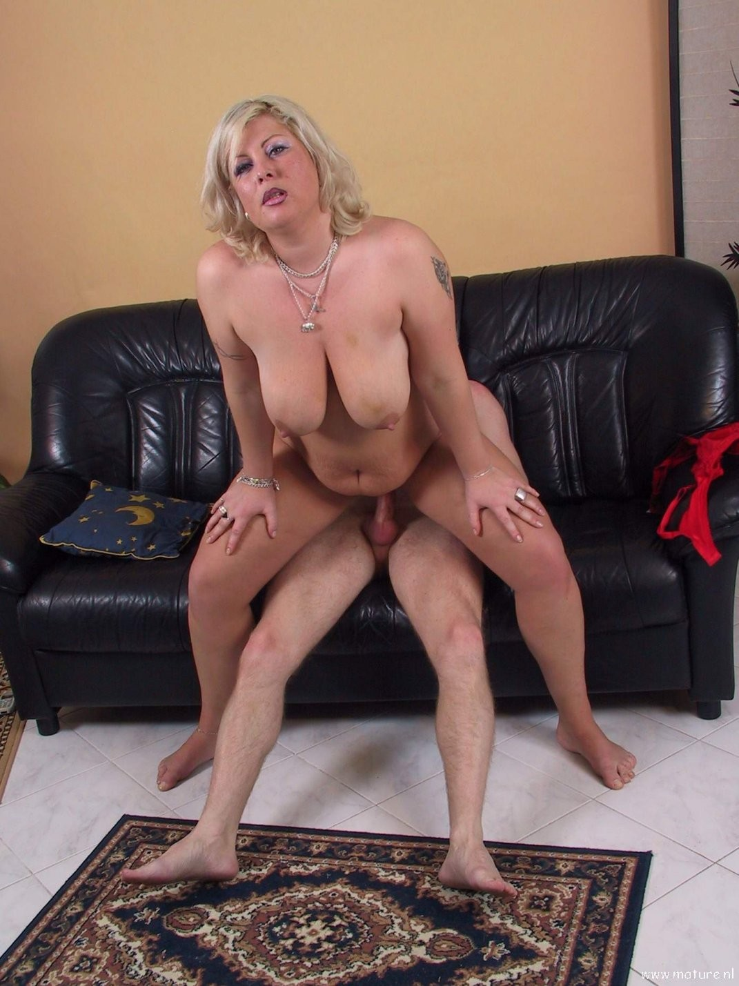 Blonde Mature Real Estate