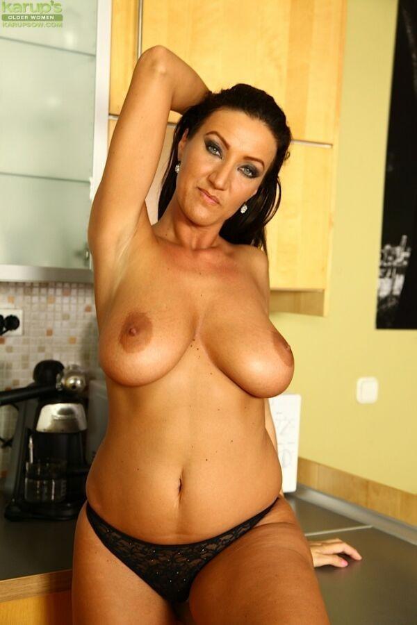 Coffee nude black girl
