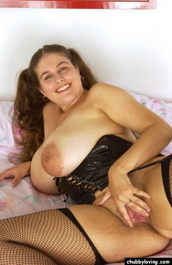 Chubby Brunette Teen Big Tits