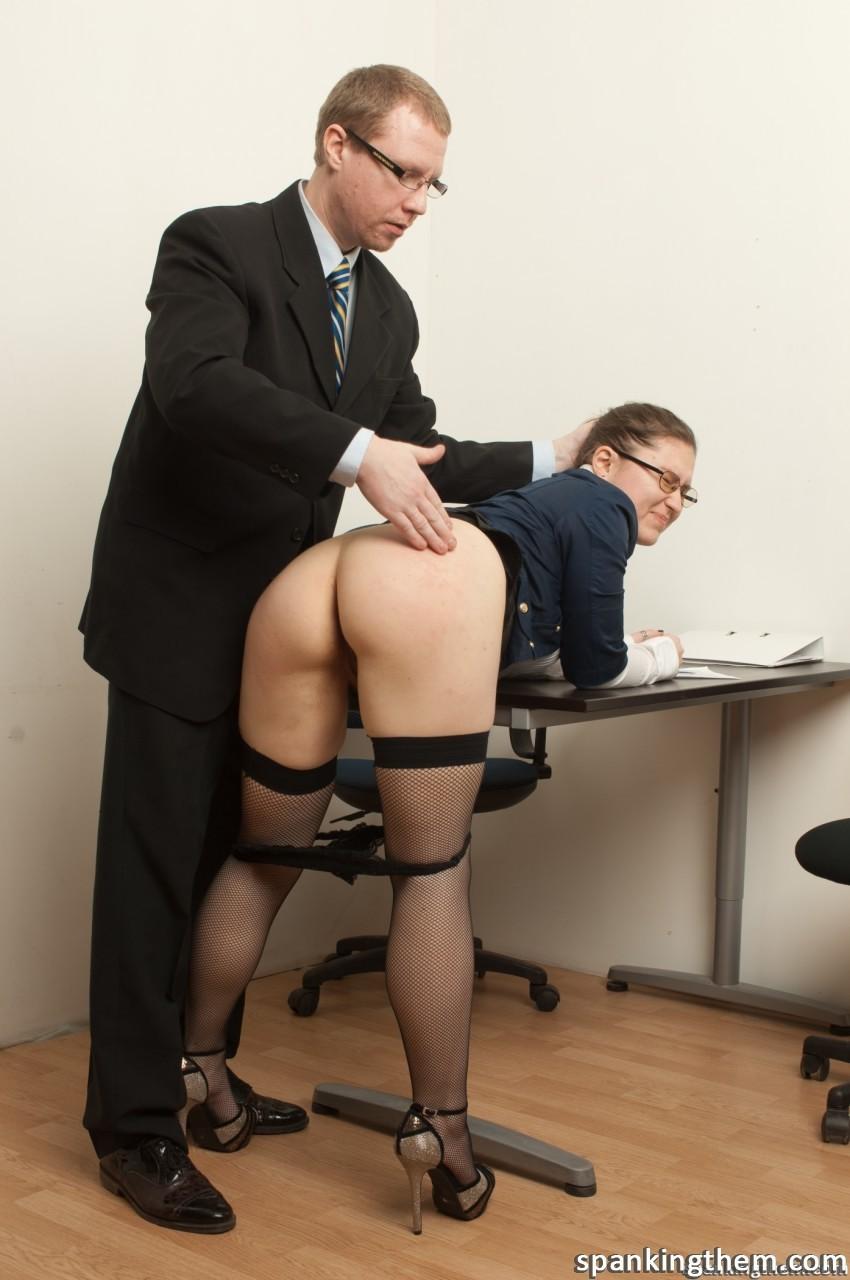 Hot secretary nude
