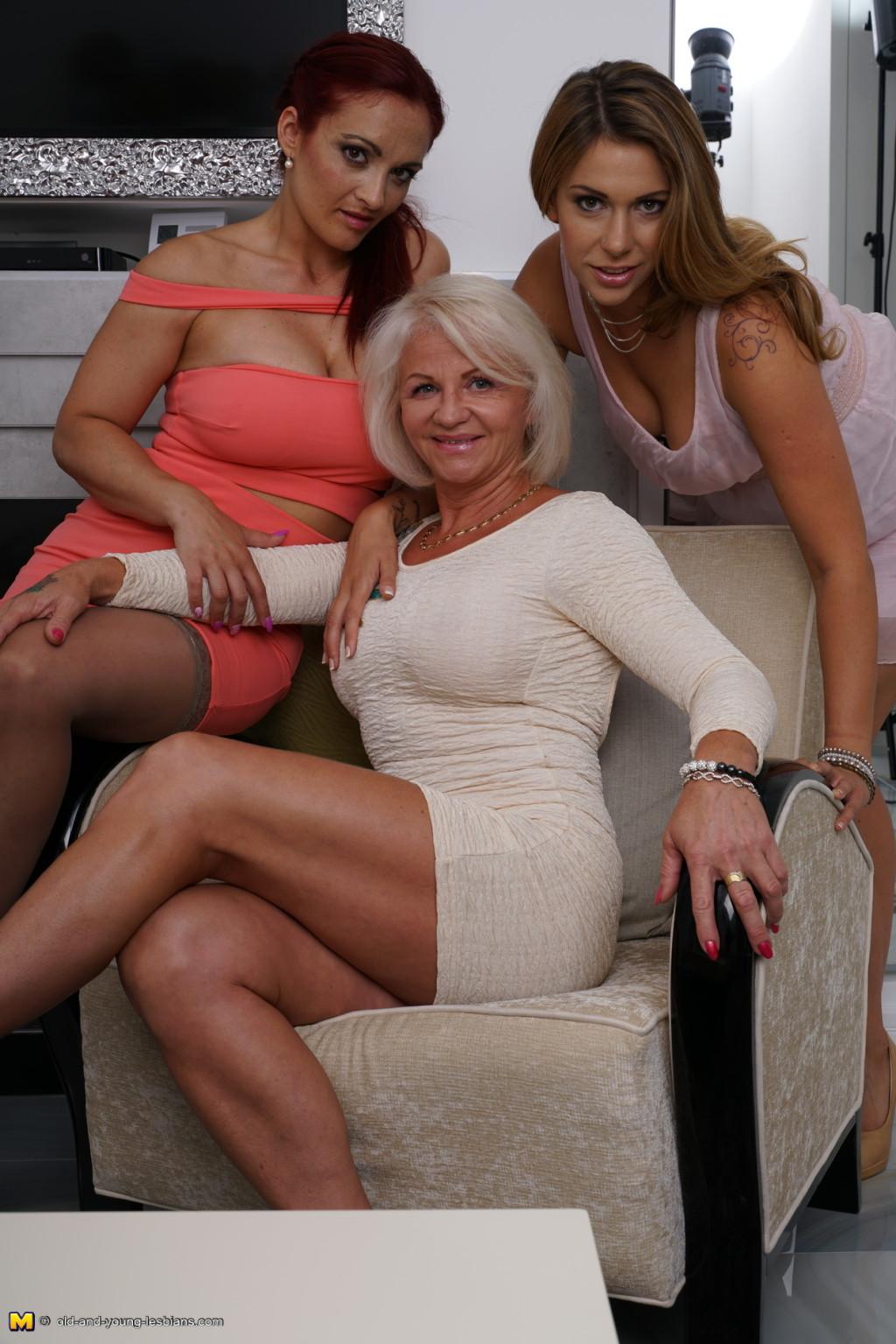 Step Mom Teen Threesome