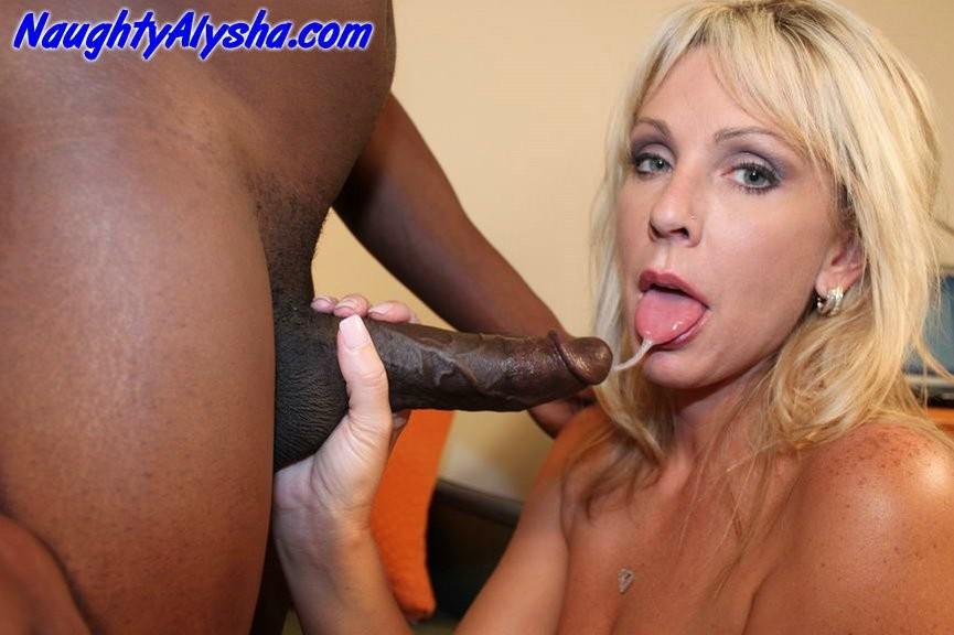 Naughty Alysha Black