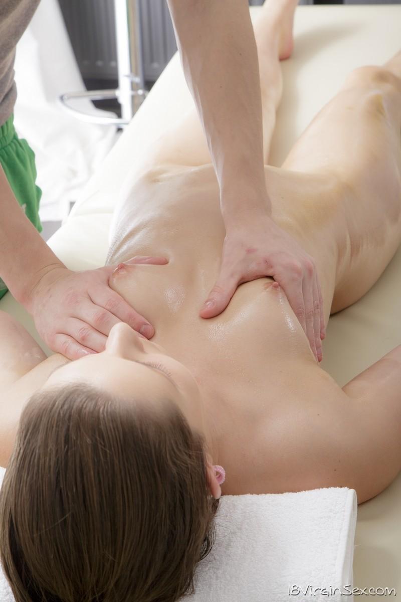 Oily Pussy Massage