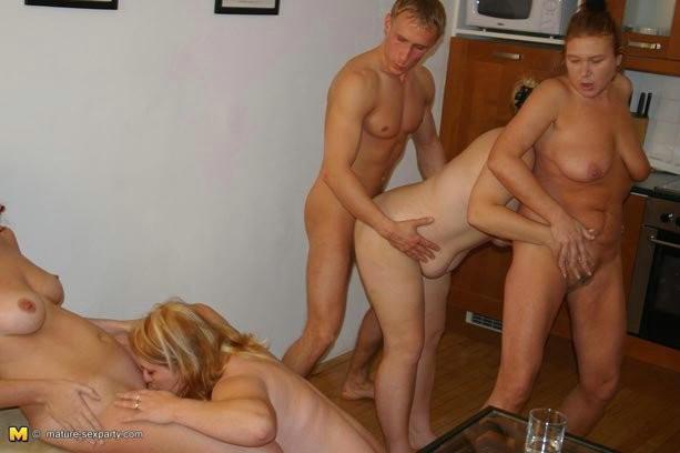 Amateur Mature Woman Young Guy