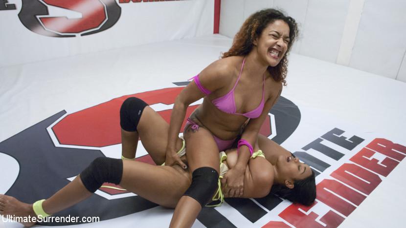 Pro Style Lesbian Wrestling